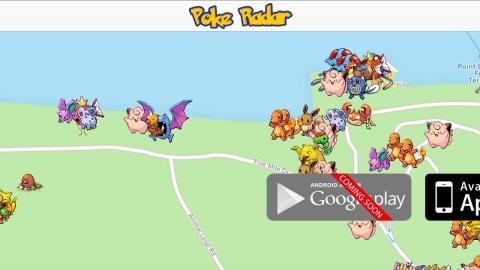 Mappa e Applicazione per trovare i Pokemon
