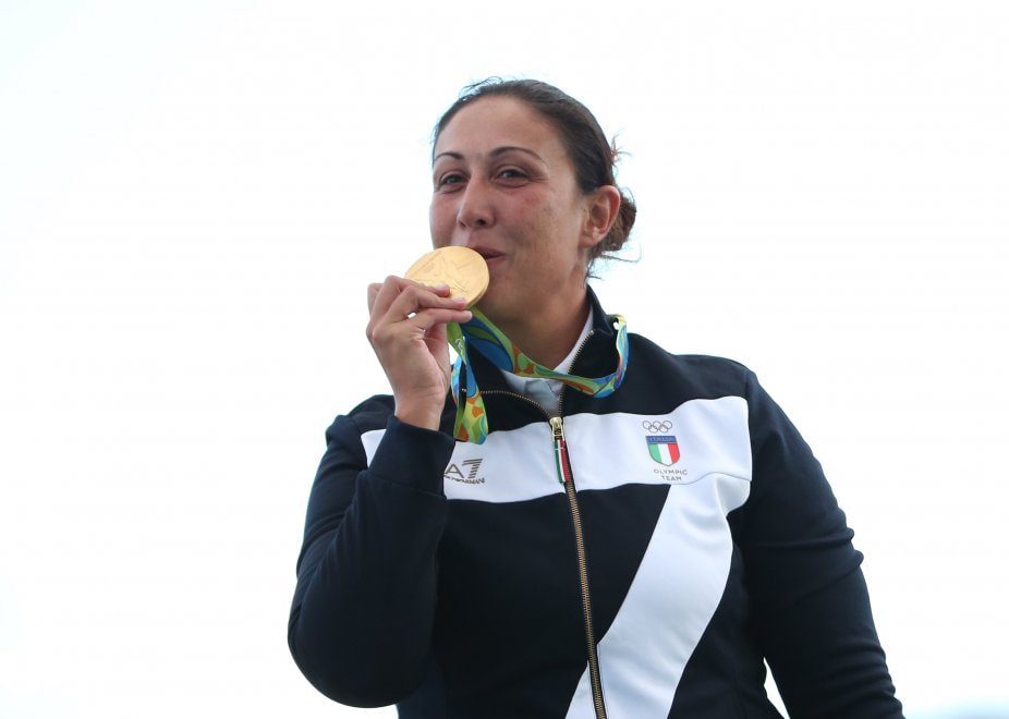 Diana Bacosi, oro 2016 nel Tiro al Volo