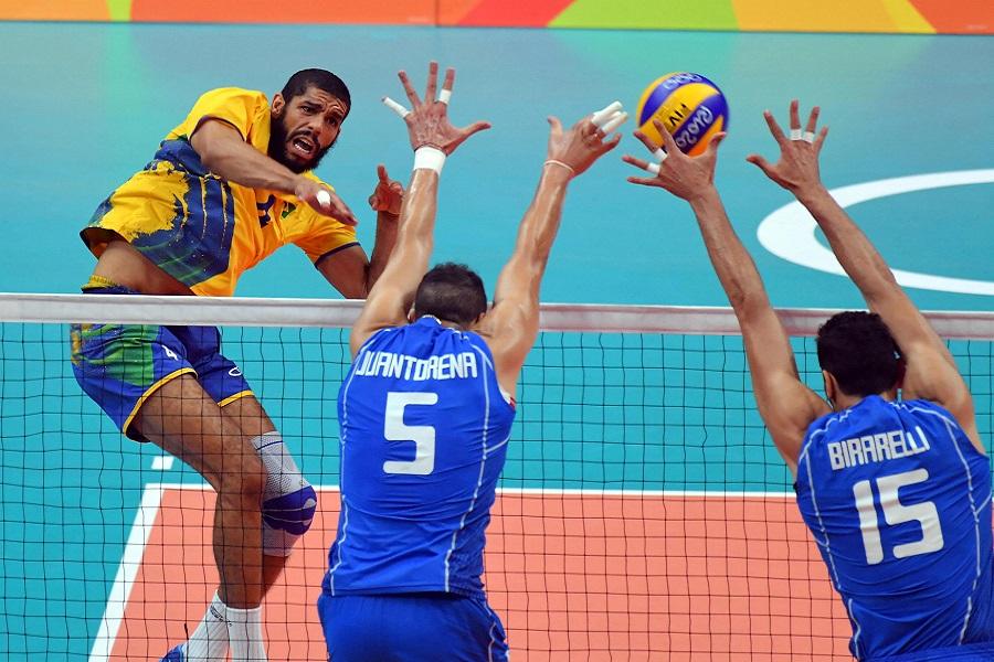 L'Italia arriva seconda contro il Brasile, è argento!
