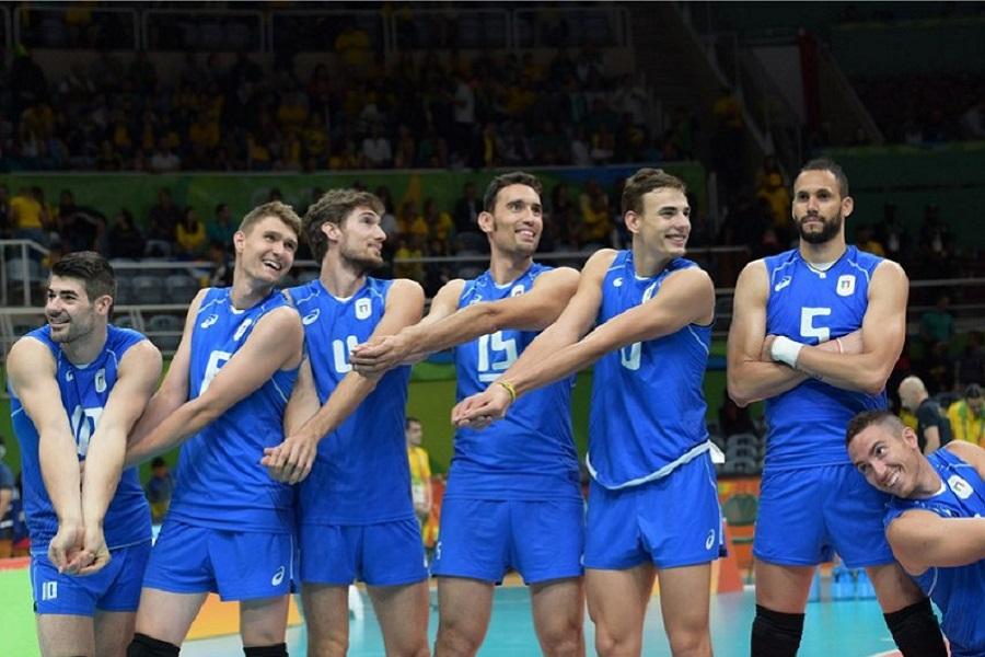 L'Italvolley a Rio batte l' Iran - il Bagher per myfacemood