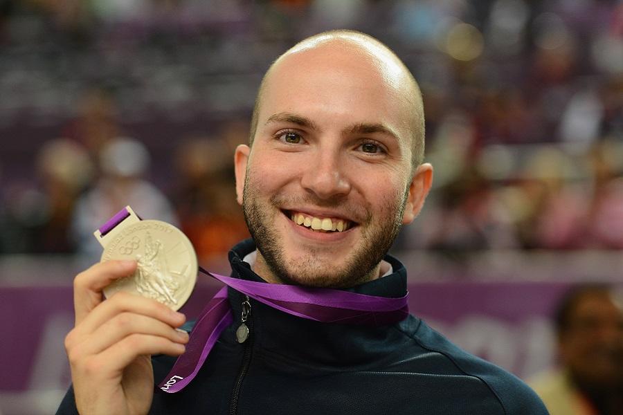 Medaglia d' oro con Niccolò Campriani