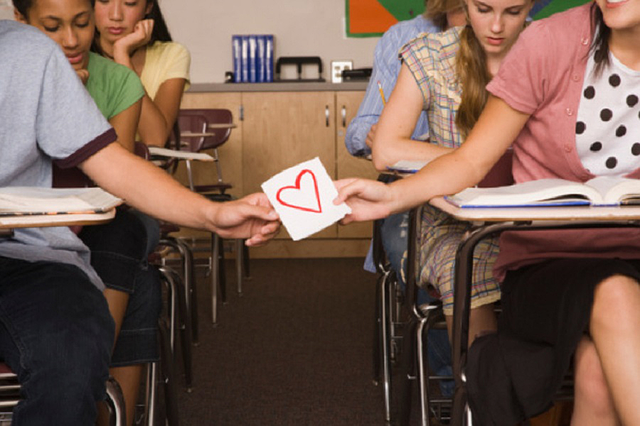 E se vi innamorate di qualcuno che è lo stesso che vedete in classe ogni giorno?