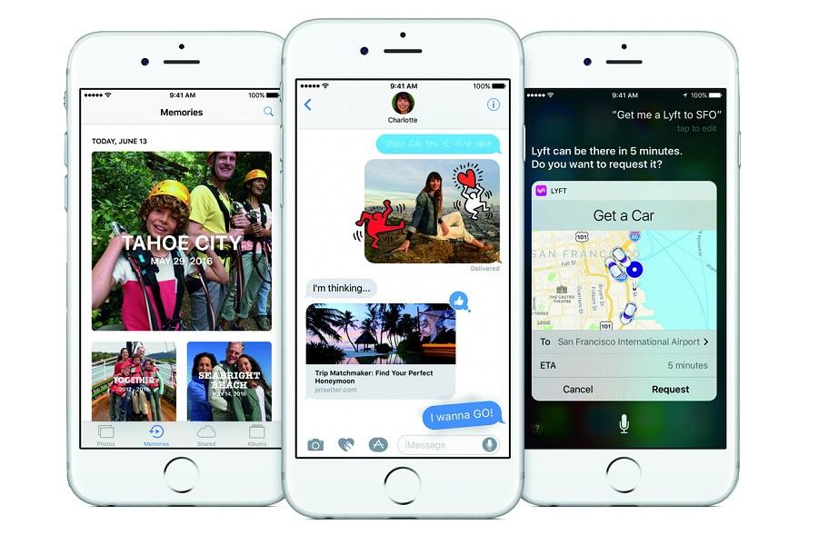 Myfacemood - Apple non manderà più aggiornamenti per l' iOS 9.3.5 e per l' iOS 10.0.1