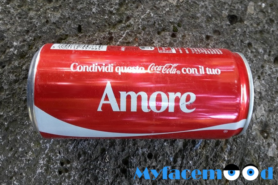 Myfacemood - Coca Cola About Love