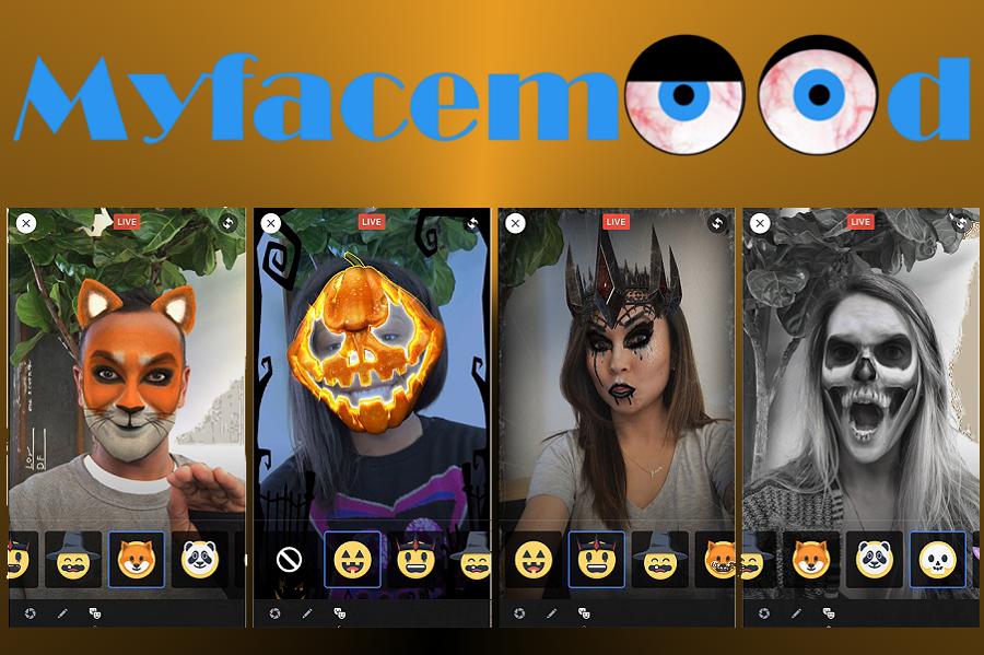 Myfacemood - Filtri di Halloween su Facebook