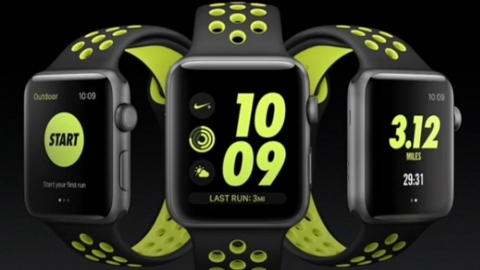"La Apple lancia sul mercato ""Watch Nike+"""
