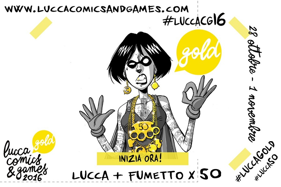 Myfacemood-Apre oggi ufficialmente l'appuntamento con Lucca Comics & Games 2016!