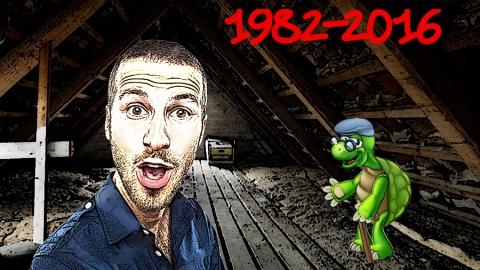 Ritrovata tartaruga in soffitta dopo 34 anni!