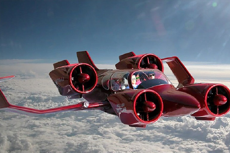 Myfacemood -La Skycar in volo!
