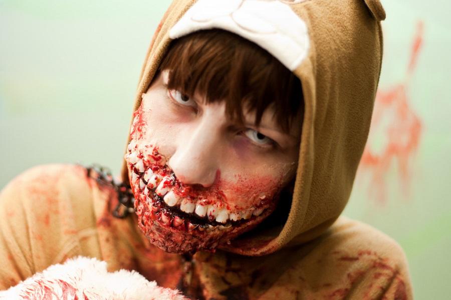 Zombie, Halloween makeup