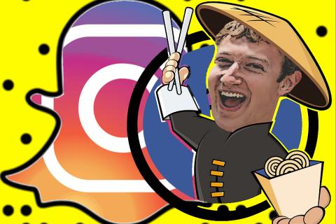 Instagram adesso è al 100% Snapchat!