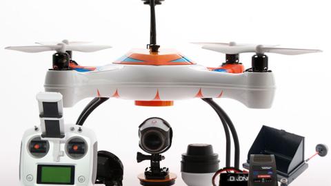 AguaDrone, il drone che ti aiuta a pescare!