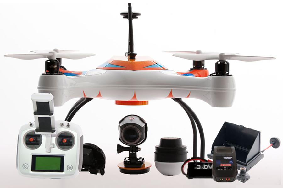 Myfacemood - AguaDrone, il drone che ti aiuta a pescare!