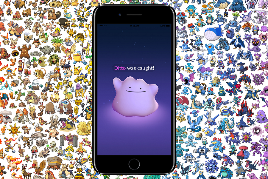 Myfacemood - Ditto arriva su Pokemon Go