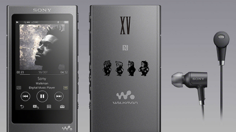 Sony: edizione limitata del Walkman marchiato Final Fantasy XV