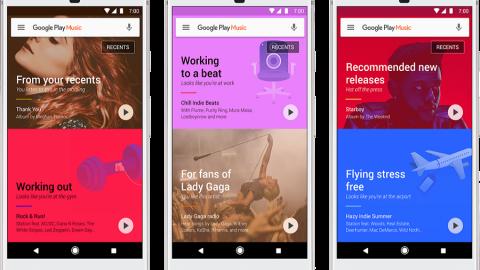 Google Play Music si ristruttura e diventa più intelligente