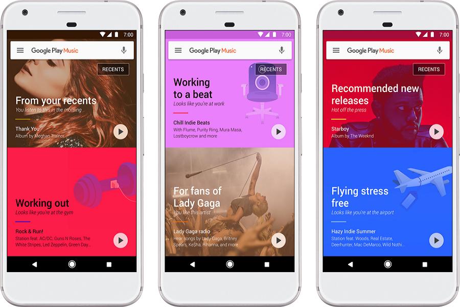 Myfacemood - Google Play Music si ristruttura e diventa più intelligente