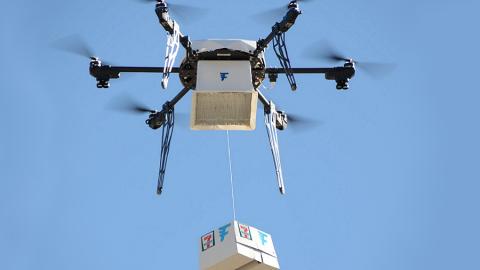 7-Eleven ed il suo drone griffato Flirtey