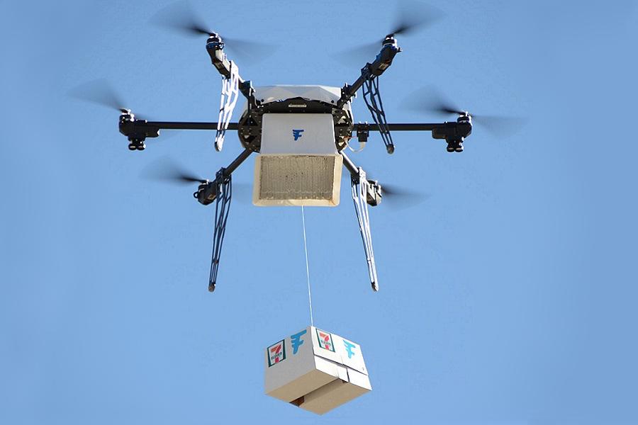 7-Eleven ha già fatto 77 consegne con il suo drone griffato Flirtey