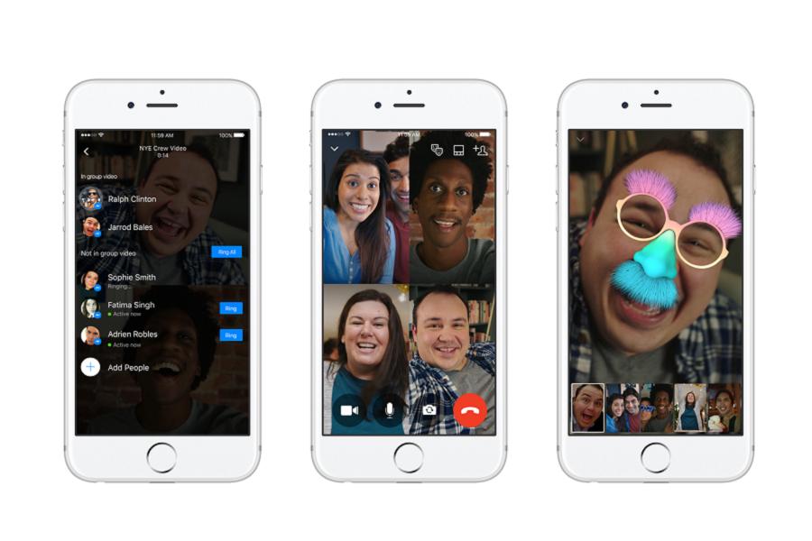 Facebook lancia la funzione Video Chat di gruppo su Messenger