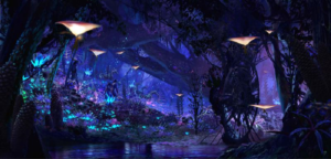 Foresta Bioluminescente di Disney World