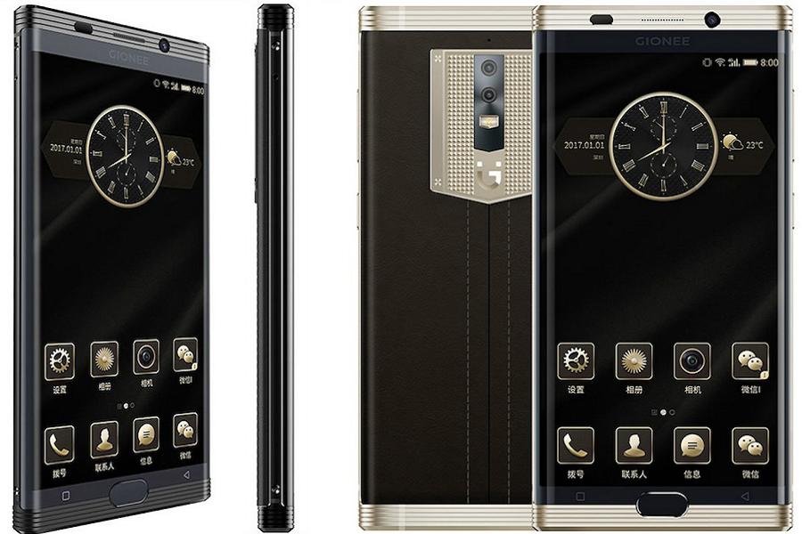 L' M2017. Lo Smartphone di lusso dell'azienda Gionee.