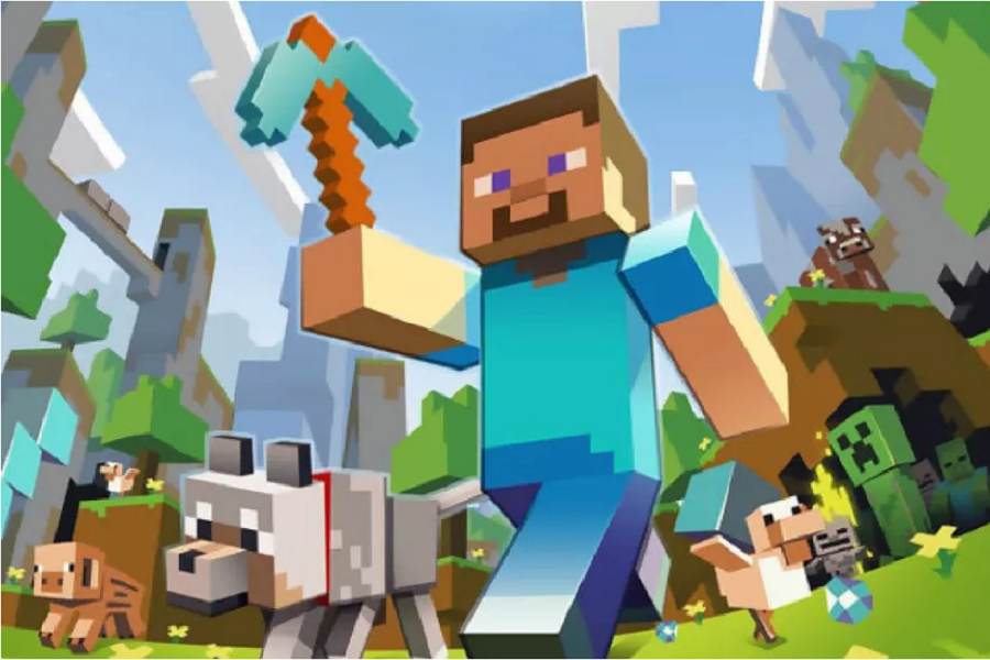 Myfacemood - Minecraft adesso è disponibile per la TV Apple