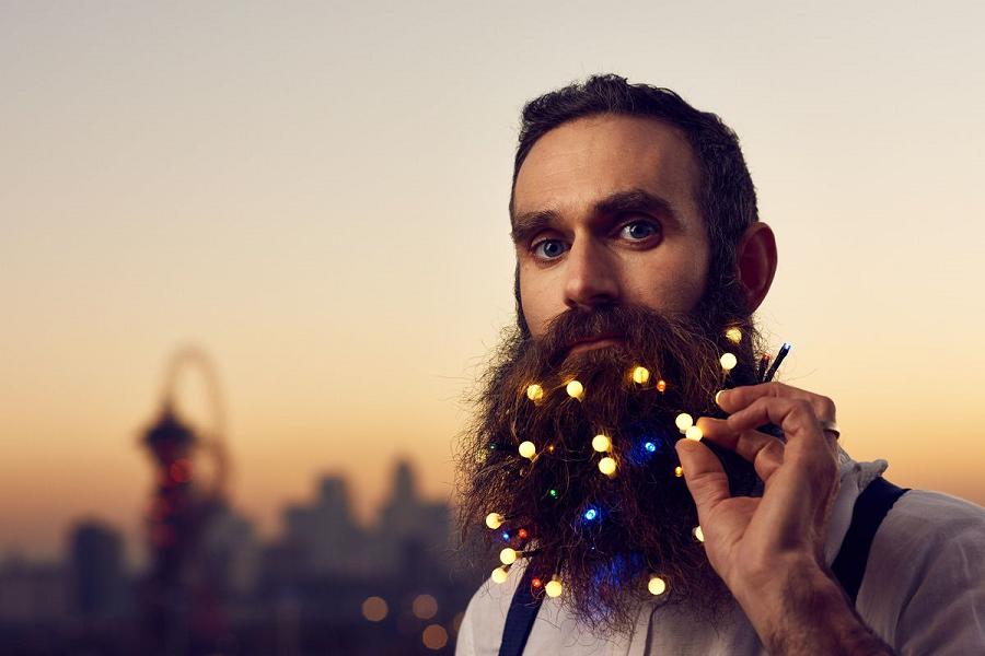 Myfacemood - L'ultimo trend natalizio da Londra per gli Hipsters barbuti