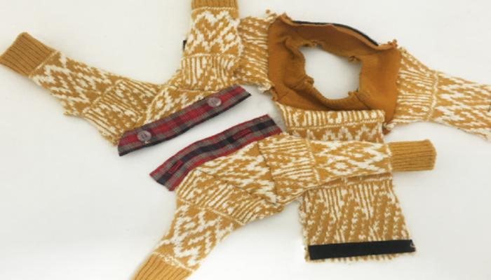 Myfacemood - Maglione di lana per Drone