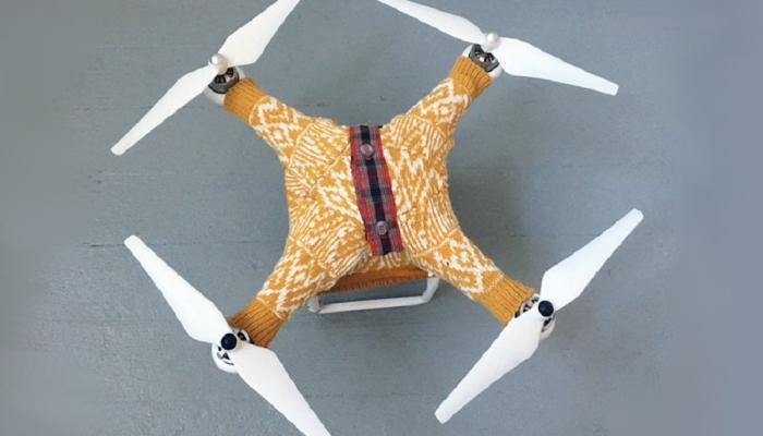 Myfacemood - Maglione per Drone