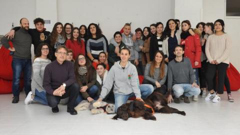 Polpetta e Galileo, due nuovi alunni dell'Istituto Marco Polo di Firenze