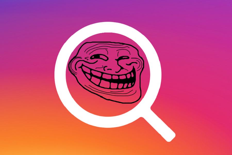 Myfacemood - Trollare su Instagram