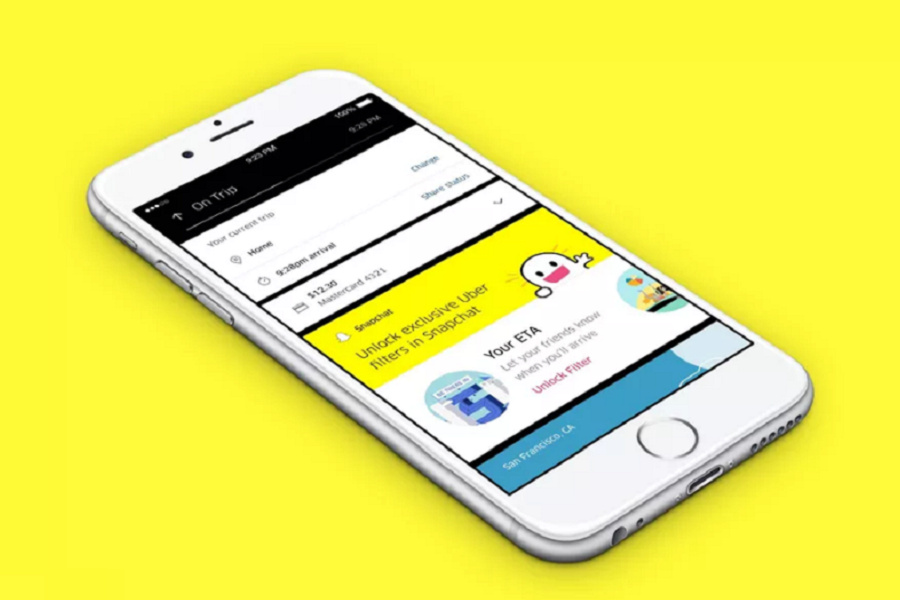 Myfacemood - Uber nuovo filtro Snapchat