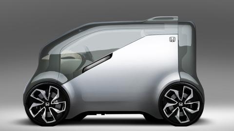 Neuv di Honda, l'elettrica con l'intelligenza artificiale