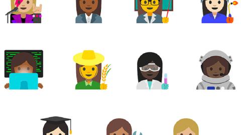 Un sacco di Gif ed Emoji con l'ultimo aggiornamento per Android di Google