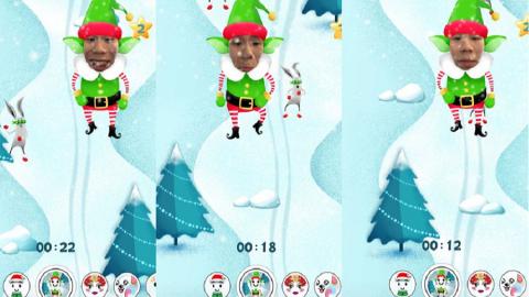 Snapchat introduce un nuovo gioco: L' Aiutante di Babbo Natale!