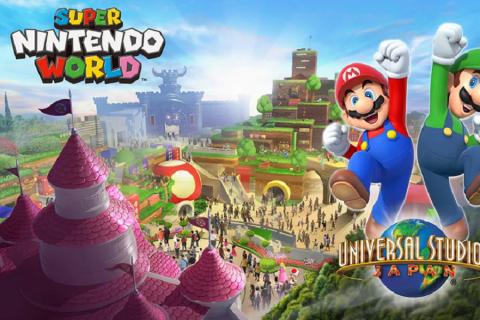 Giappone 2020: l'Universal Studios ospiterà Super Nintendo World!