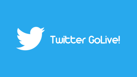 Twitter GoLive!