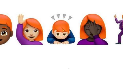 Comitato Unicode: presto le emoji con i capelli rossi