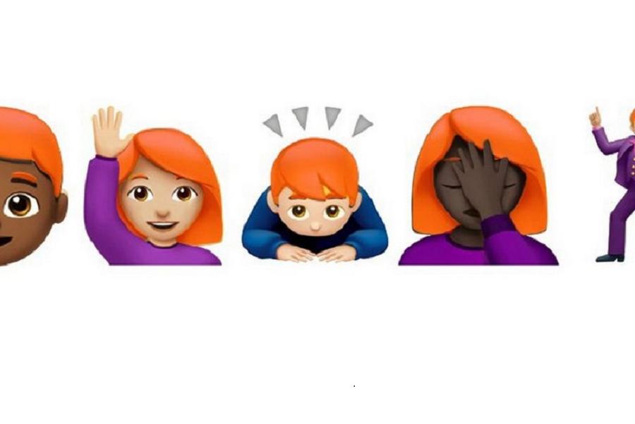 Comitato Unicode presto le emoji con i capelli rossi