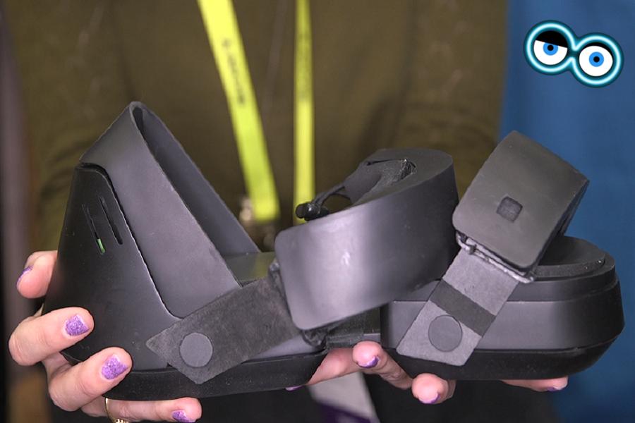 Ecco le scarpe Taclim per la Realtà Virtuale by Cerevo