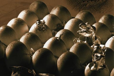 Le uova di dinosauro rivelano il motivo per il quale la specie si estinse!