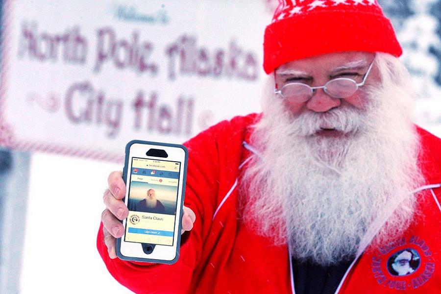 Myfacemood - Facebook blocca l'account di Babbo Natale
