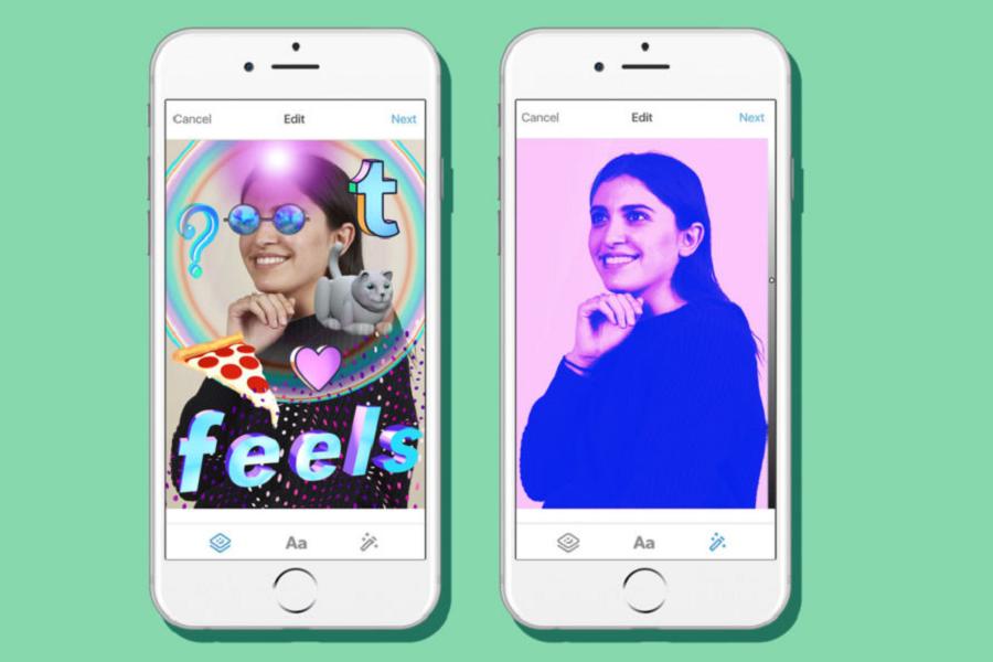 Myfacemood - Finalmente arrivano i filtri fotografici e gli stickers su Tumbrl! E le Gif nei messaggi!