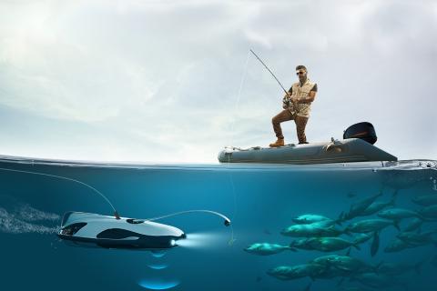 PowerRay, il drone subacqueo che va a caccia di pesci!