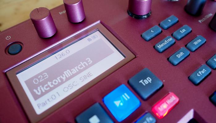 Myfacemood - Korg Electribe Sampler funzioni
