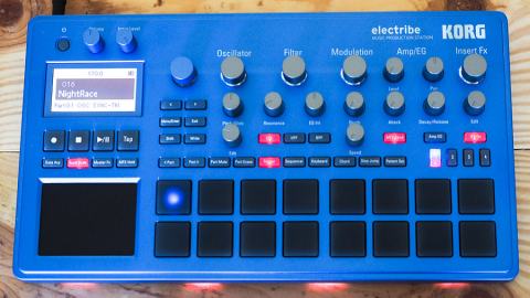 Sequenziatore e Campionatore Electribe Korg: grandi performance in un formato piccolo!