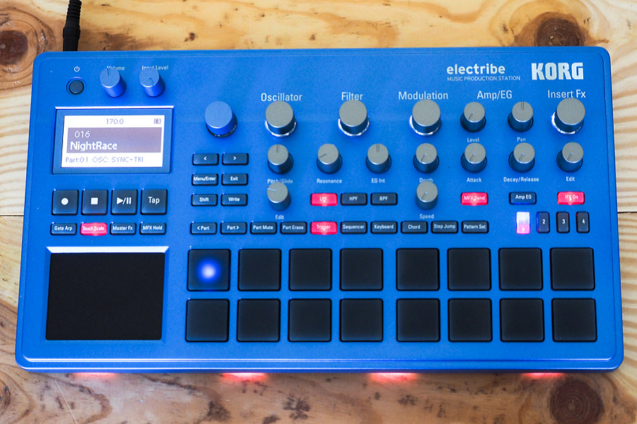 Myfacemood - Korg Electribe frontale
