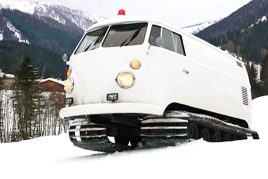 Myfacemood - Van della Volkswagen del 1966 modificato