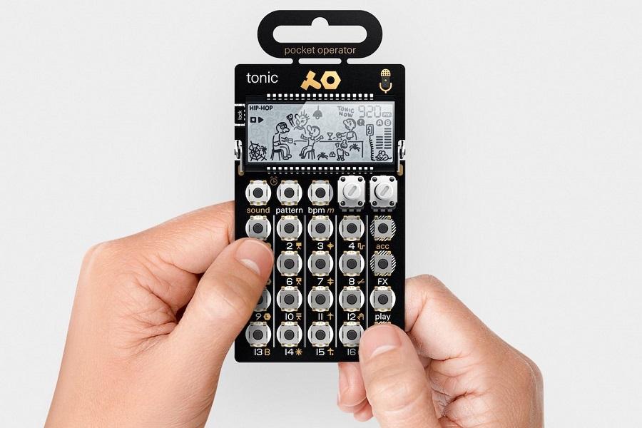 Tonic PO-32 il nuovo sintetizzatore tascabile da sballo della Teenage Engineering